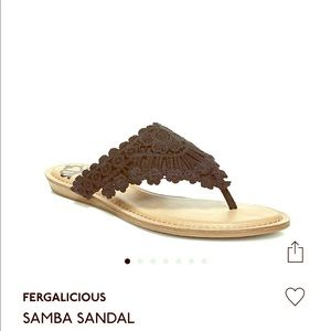 Fergie sandal brand new